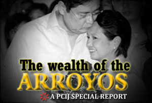 The wealth of the Arroyos
